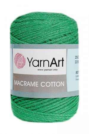 Пряжа MACRAME COTTON 759 Зеленый
