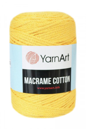 Пряжа MACRAME COTTON 764 Желтый