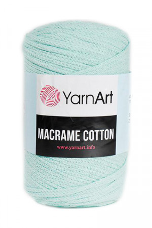 Пряжа MACRAME COTTON 775 Мята