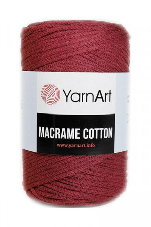 Пряжа MACRAME COTTON 781 Бордовый